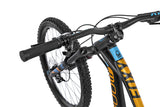 Mondraker Foxy 2018 Full suspension Enduro and All Mountain Style Bike with zero suspension technology and forward geometry for a longer wheelbase and more stable ride, with Boost 12x148mm rear axle, RockShox Monarch RT Solo Air HV tube, Rockshox Reba 27´5 RL Solo Air, 150mm, Tapered head tube, 15x110mm Boost axle, 32mm aluminium bars.