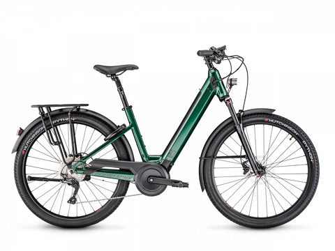 Moustache Samedi 27.5 Open Xroad 5 emerald green ebike new 2020 model with Bosch