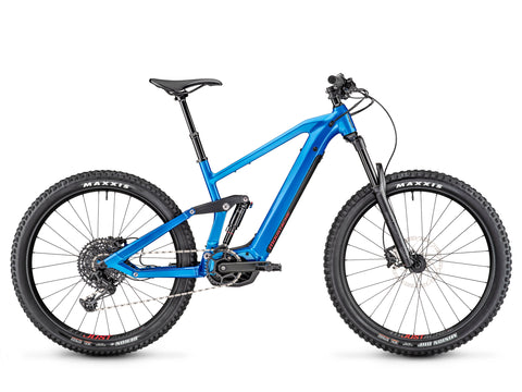 Moustache Samedi 27.5 blue trail electric mountain bike new for 2020