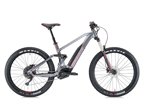 Moustache Samedi 27 Trail 4 Comfort Electric Mountain Bike is a French designed ebike with full suspension and Bosch Motor.
