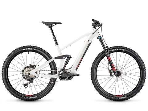 Moustache Samedi Game 6 2020 white electric mountain bike