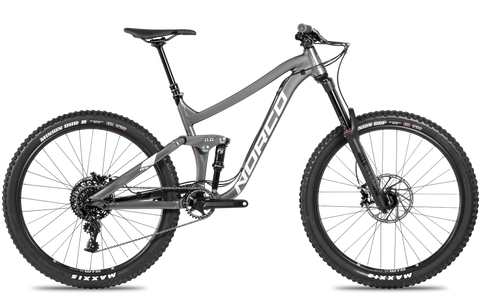 Norco Range A2 2018 Full Suspension Enduro Mountain Bike with aluminium frame and your choice of 29er or 27.5 wheels and frame