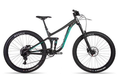 Norco Sight A3 Women's All Mountain Bike with alloy frame and Rockshox full suspension, under $4300