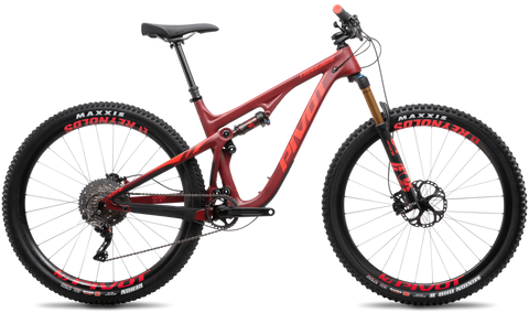 2020 29er Pivot Trail 429 - Full carbon frame featuring leading-edge materials and Pivot's proprietary, hollow core, internal molding technology
