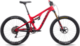 Pivot Mach 5.5 red carbon trail 27.5 mountain bike with Fox forks