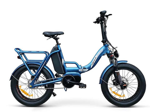 Wattwheels Scout LS XT Folding ebike with internal hub gears and centre mounted motor
