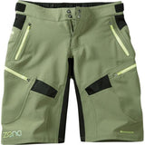 Madison Zena Womens Olive Green Shorts Front