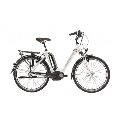 "Bosch mid drive ebike with 26"" wheels and low standover height"