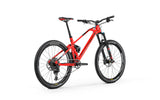Red full sus carbon frame Mondraker Foxy Carbon RR 2018 enduro All Mountain MTB Bike