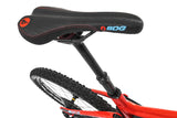Red full sus carbon frame Mondraker Foxy Carbon RR 2018 enduro All Mountain MTB Bike saddle