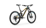 Mondraker Foxy 2018 Full suspension Enduro and All Mountain Style Bike with zero suspension technology and forward geometry for a longer wheelbase and more stable ride, with Boost 12x148mm rear axle, RockShox Monarch RT Solo Air HV tube.