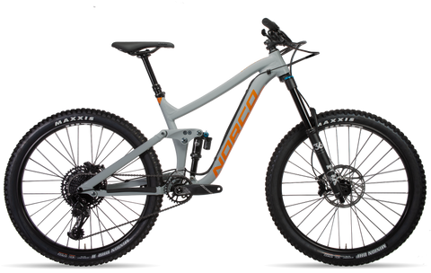 27.5 Norco Range A1 2019 Enduro Mountain Bike with aluminium frame, front and rear suspension, boost rear axle