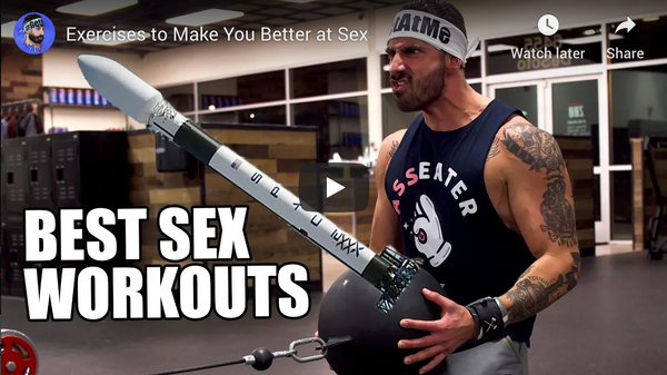 Exercises to Make You Better at Sex with Dom Mazetti!