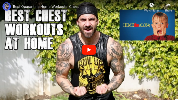 Best Quarantine Home Workouts: Chest | BroScienceLife