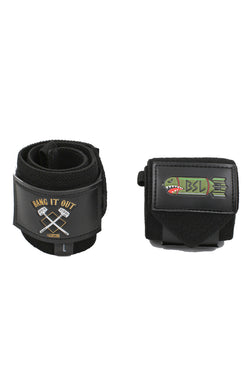 "BSL Bang it Out Wrist Wraps 18""- Black"