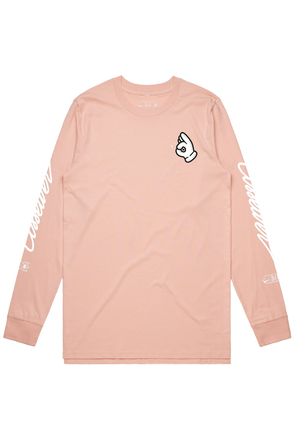 BSL Ass Eater Long Sleeve- Pink