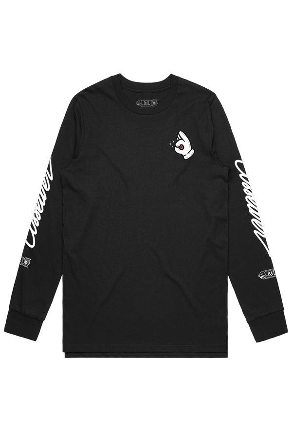 BSL Ass Eater Long Sleeve- Black