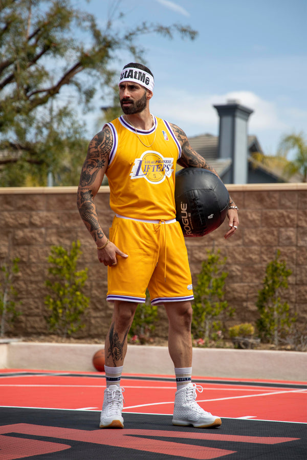 BSL Lifters Basketball Jersey BSL103 & BSL303 Set - Yellow