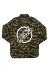 BSL Premium Limited Edition Denim Jacket - Camo Green