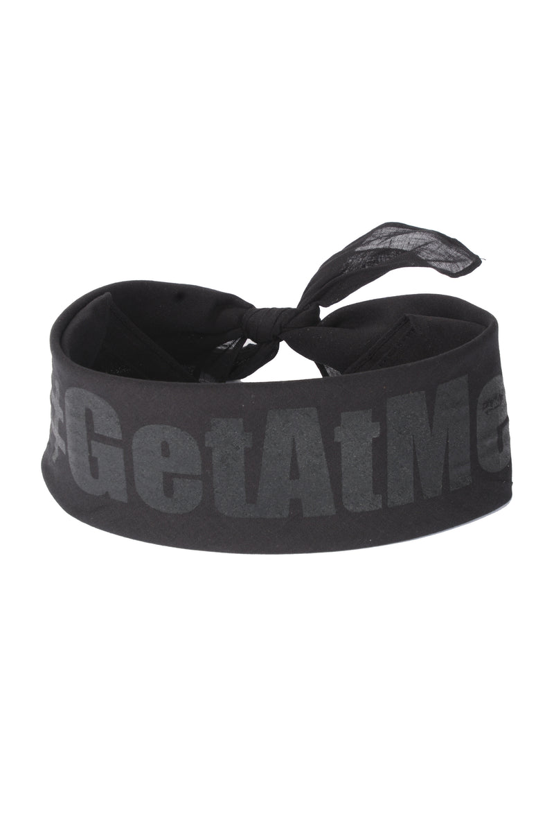 Get at Me Bandana - Black