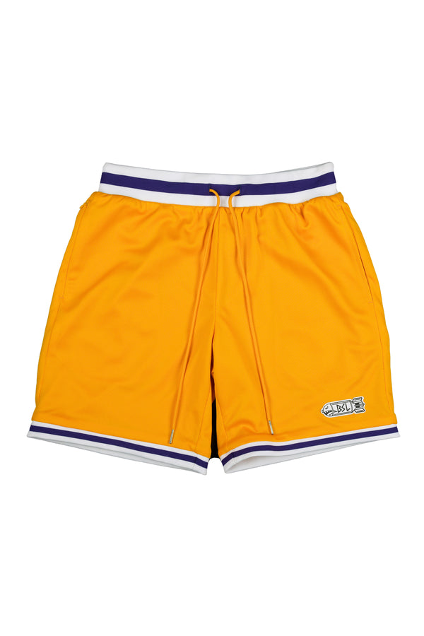 BSL Lifters Basketball Jersey Shorts BSL103 - Yellow