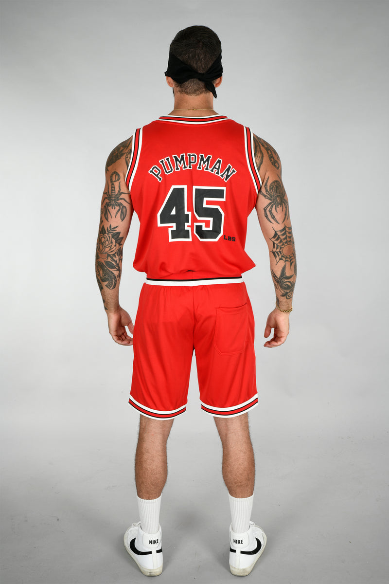 BSL Swolls Basketball Jersey Shorts BSL102 - Red