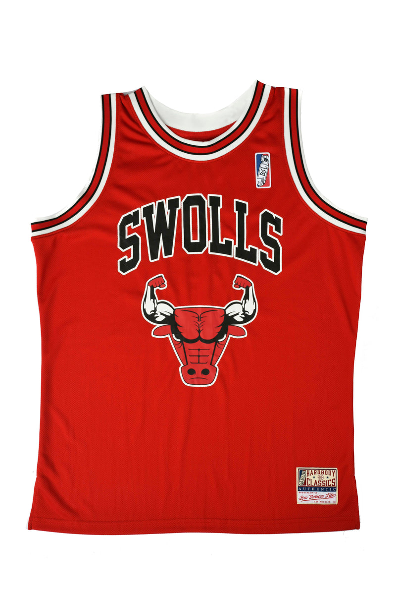 BSL Swolls Basketball Jersey Tank BSL302 - Red
