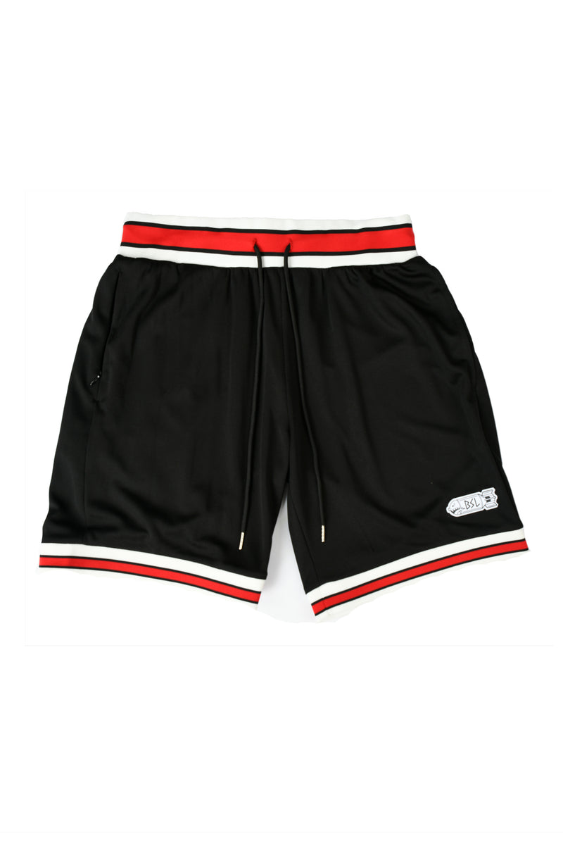 BSL Swolls Basketball Jersey Shorts - Black