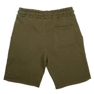 BSL Premium French Terry Shorts - Olive