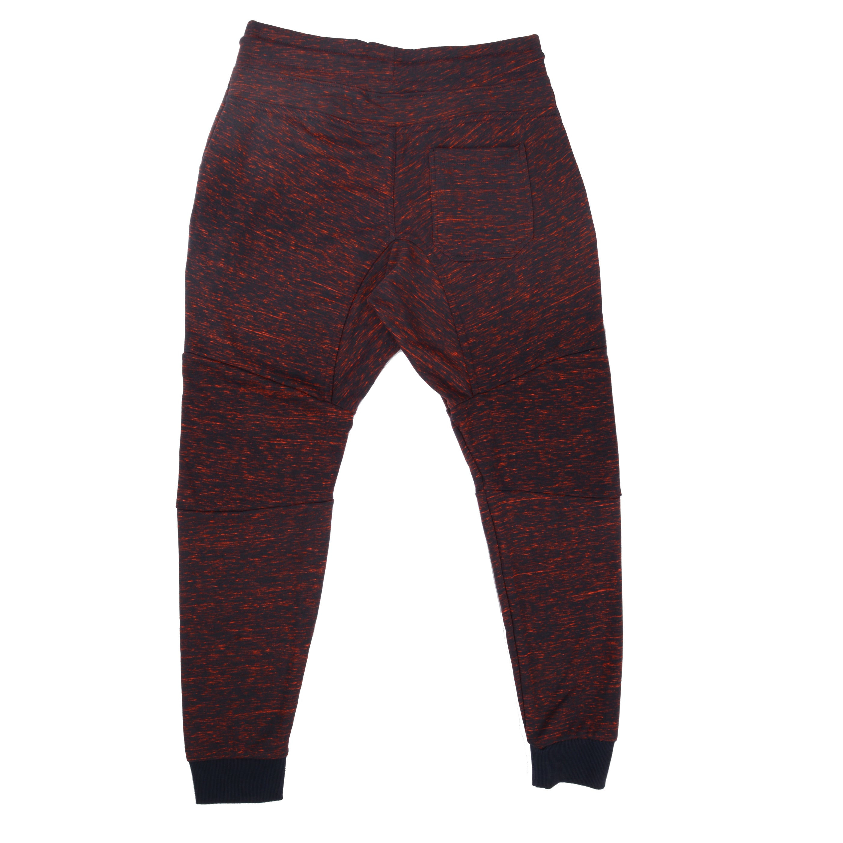 BSL Premium Tech Joggers - Red/Navy 201