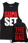 Douche Bag Bundle (Supa Set Cut-off & Douche Bag)