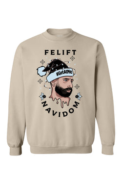 BSL Felift Navidom Christmas Sweater- Tan