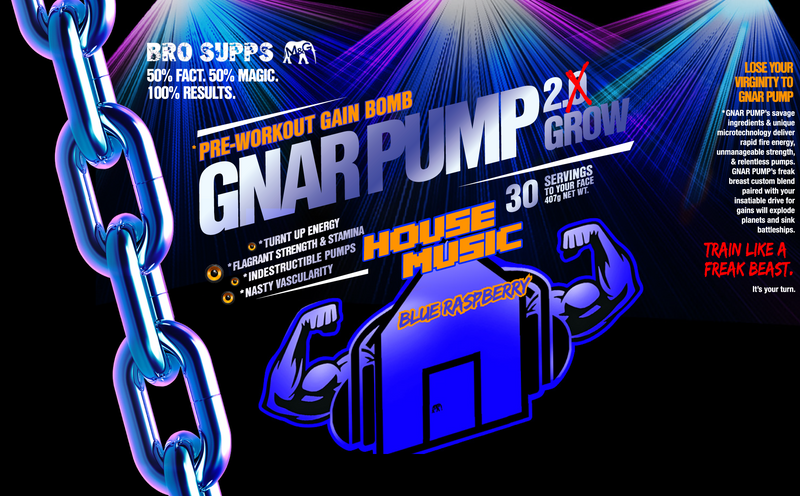 BroSupps Bundle- (BCAA Hard Attack and Gnar Pump Pre-Workout)