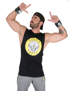 BSL Guns and Poses Muscle Tank Cut-Offs - Black