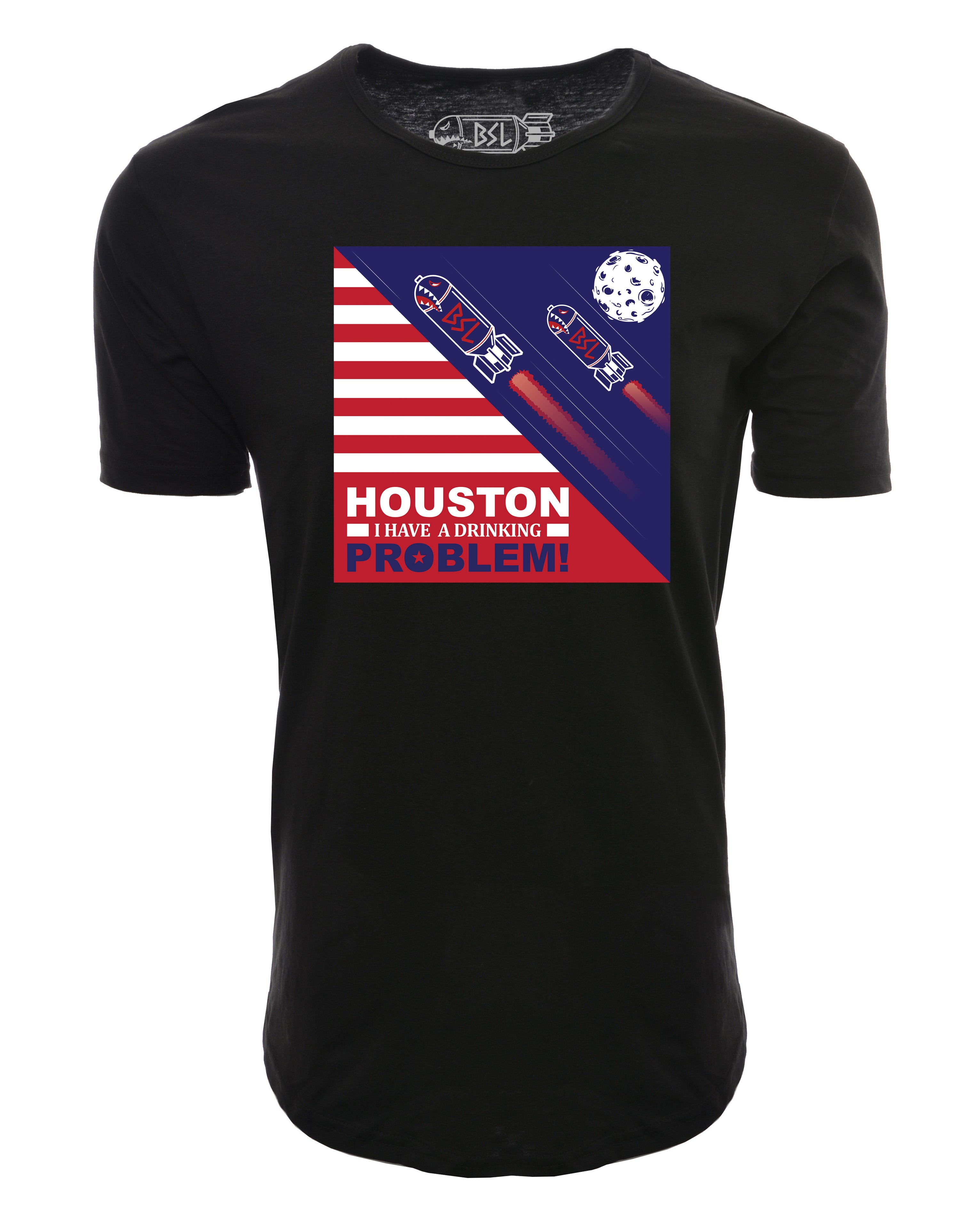 BSL Houston I have a Drinking Problem Shirt - Black