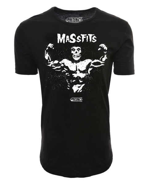MassFits Elongated Shirt - Black