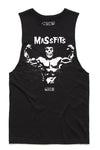 MassFits Tank Cut-Offs - Black