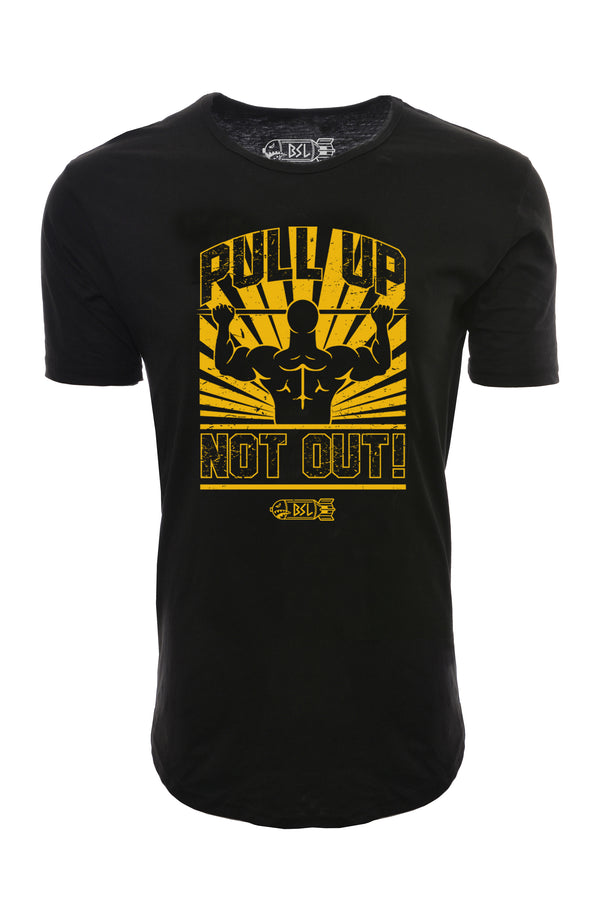 Pull Up Not Out Elongated Shirt - Black