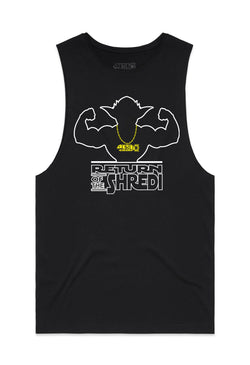 BSL Return of the Shredi Tank Cut-Offs - Black