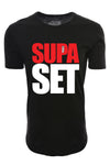 Elongated Supa Set Shirt - Black