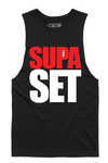 BSL Supa Set Tank Cut-Offs - Black