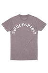 Swolyspirit Mineral Wash Shirt - Purple Haze