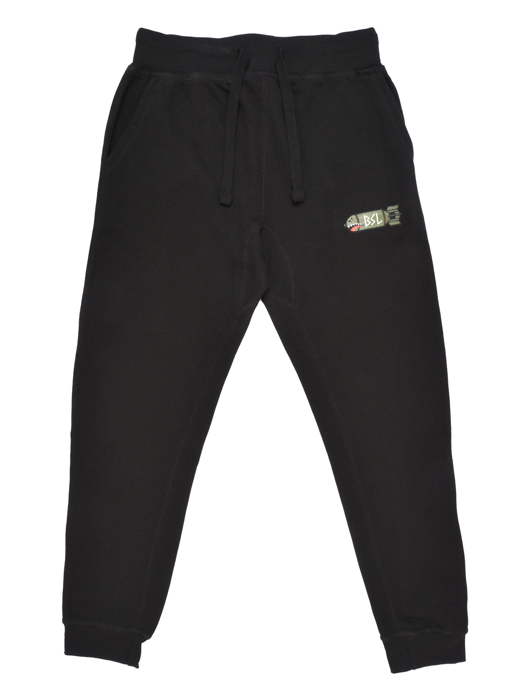 BSL Fitted Tech Joggers - Black
