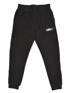 BSL Fitted Joggers - Black