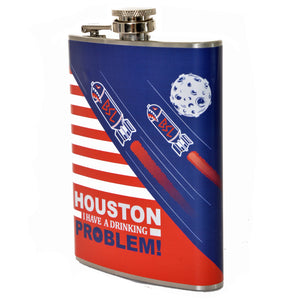 BSL Houston I have a Drinking Problem Flask