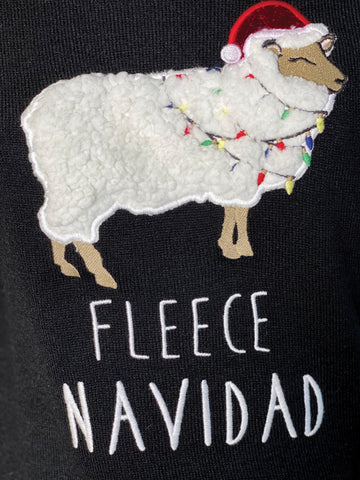 Fleece Navidad Holiday Sweater