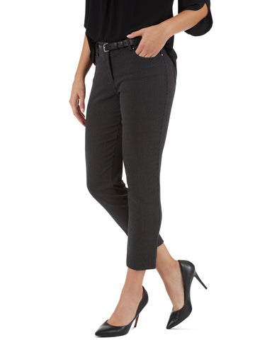 Millennium Buckle Cuff Stretch Straight Leg Pants