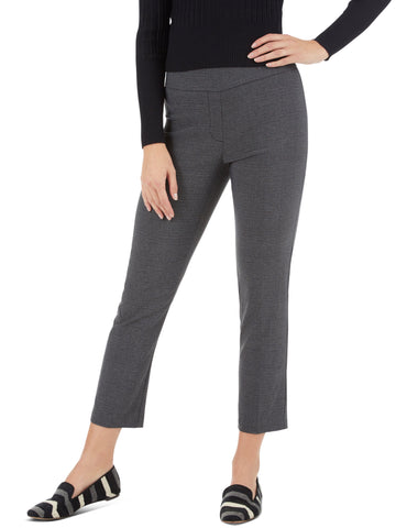 Millennium Petite Five Pocket Stretch Straight Leg Pants