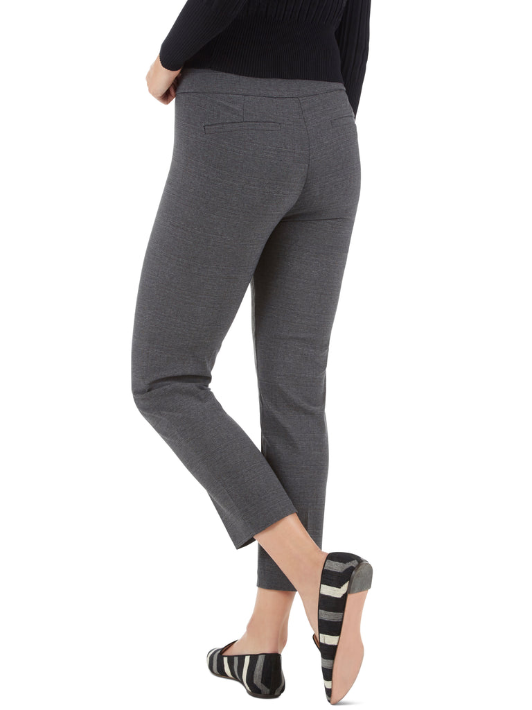 Millennium Stretch Crosshatch Print Tapered Leg Pants