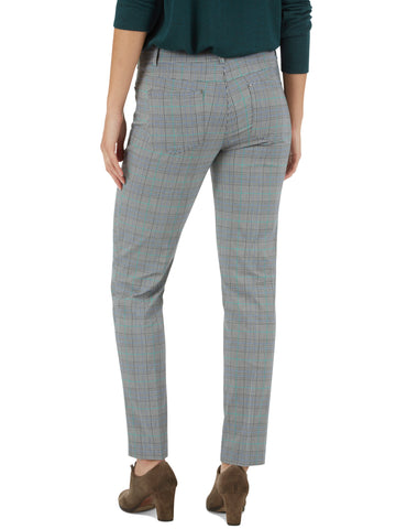 Millennium Glen Plaid Five Pocket Jean Style Pants